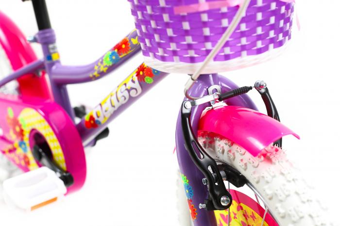 Bicicleta Copii Dhs 1602 Violet 16 Inch 10