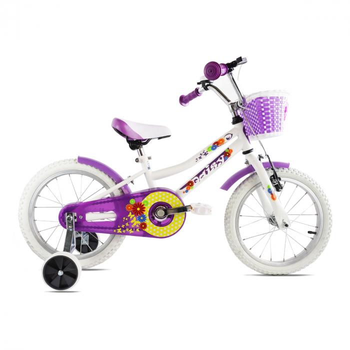 Bicicleta Copii Dhs 1604 - 16 Inch  Alb [0]