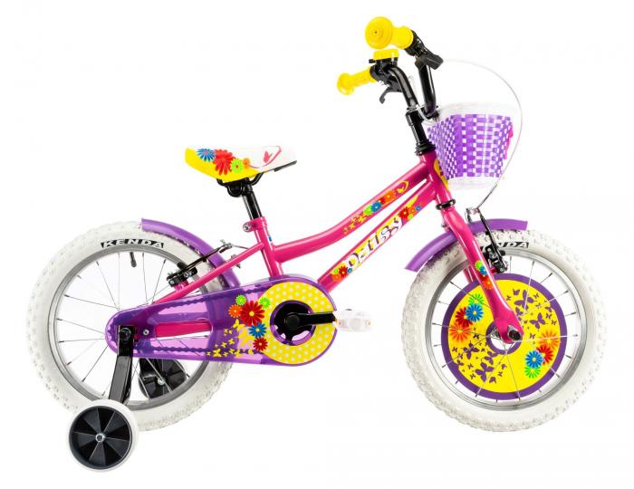 Bicicleta Copii Dhs 1604 Violet 16 Inch 1