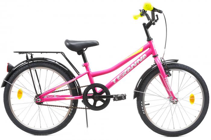 Bicicleta Copii Dhs 2002 Alb 20 Inch 1