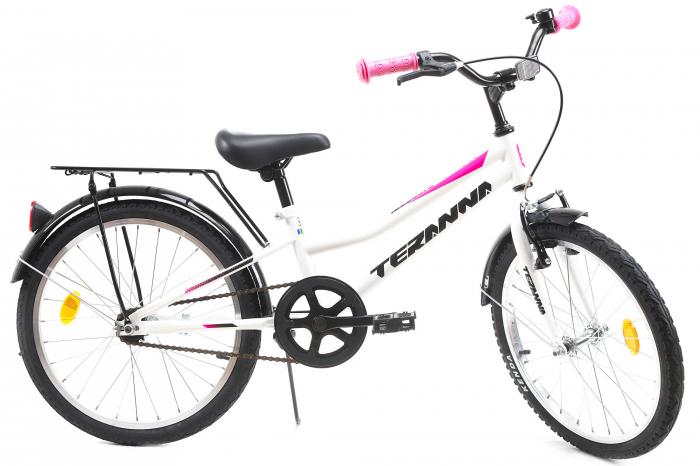 Bicicleta Copii Dhs 2002 Alb 20 Inch 2