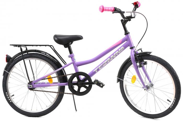 Bicicleta Copii Dhs 2002 Alb 20 Inch 0