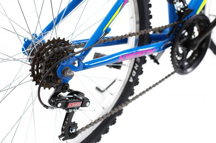 Bicicleta Copii Dhs 2404 Negru/Galben 24 Inch 3