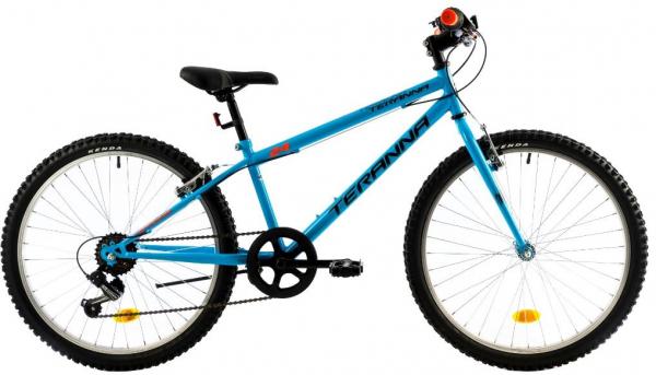 Bicicleta Copii Dhs 2421 Albastru 24 Inch 0