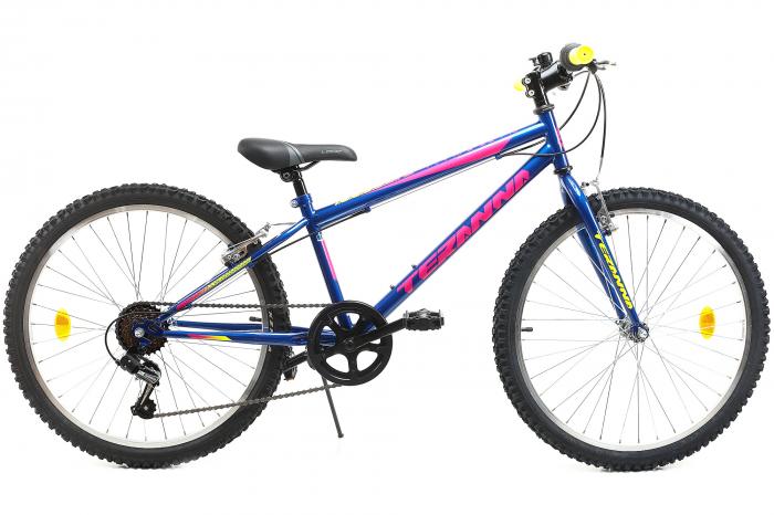 Bicicleta Copii Dhs 2421 Verde Light 24 Inch 2