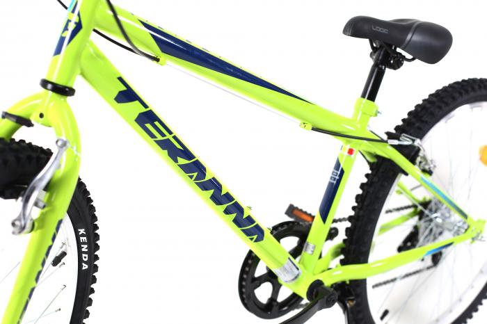 Bicicleta Copii Dhs 2421 Verde Light 24 Inch 12