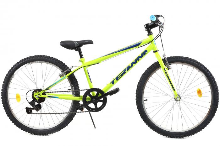 Bicicleta Copii Dhs 2421 Verde Light 24 Inch 0