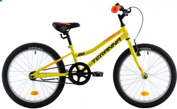Bicicleta Copii Dhs Terrana 2001 Negru/Rosu 20 Inch 1