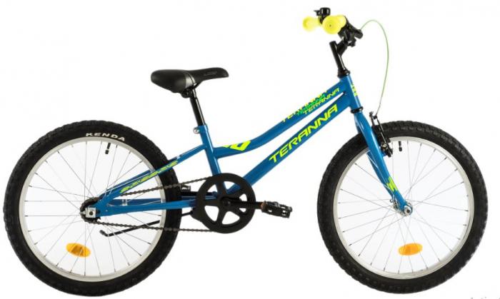 Bicicleta Copii Dhs Terrana 2001 Negru/Rosu 20 Inch 2
