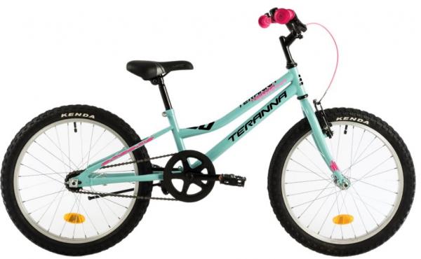 Bicicleta Copii Dhs Terrana 2002 Verde/Deschis 20 Inch 0