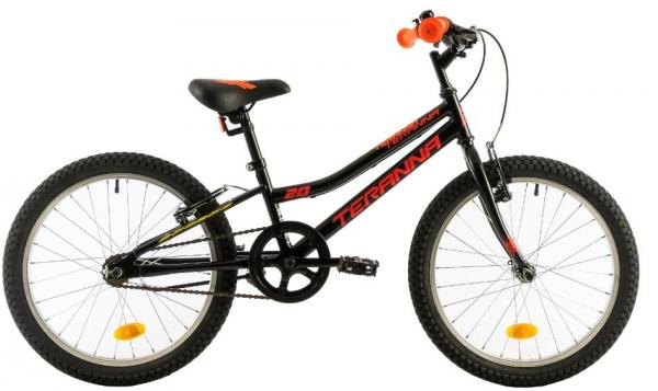 Bicicleta Copii Dhs Terrana 2003 Negru 20 Inch 0