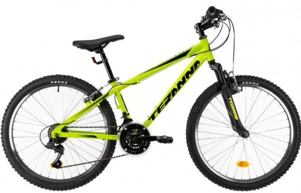 Bicicleta Copii Dhs Terrana 2423 Verde 24 Inch 0