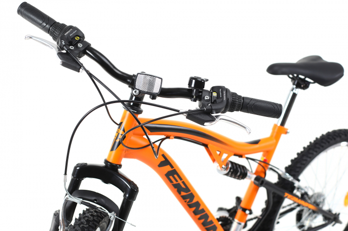 Bicicleta Copii Dhs Terrana 2445 Negru 24 Inch 10