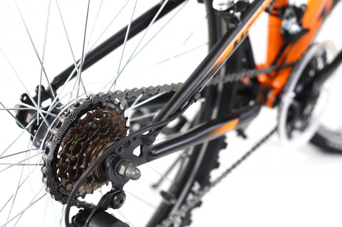 Bicicleta Copii Dhs Terrana 2445 Negru 24 Inch 2