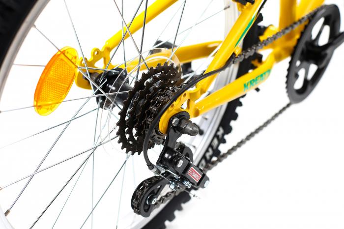 Bicicleta Copii Kreativ 2013 Galben/Verde 20 Inch 6
