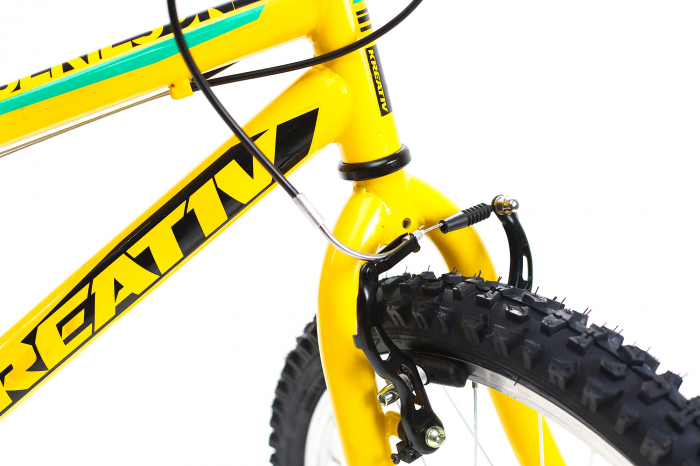 Bicicleta Copii Kreativ 2013 Galben/Verde 20 Inch 8