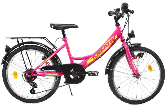 Bicicleta Copii Kreativ 2014 Turcoaz 20 Inch 1