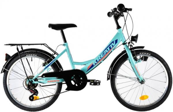 Bicicleta Copii Kreativ 2014 Turcoaz 20 Inch 2