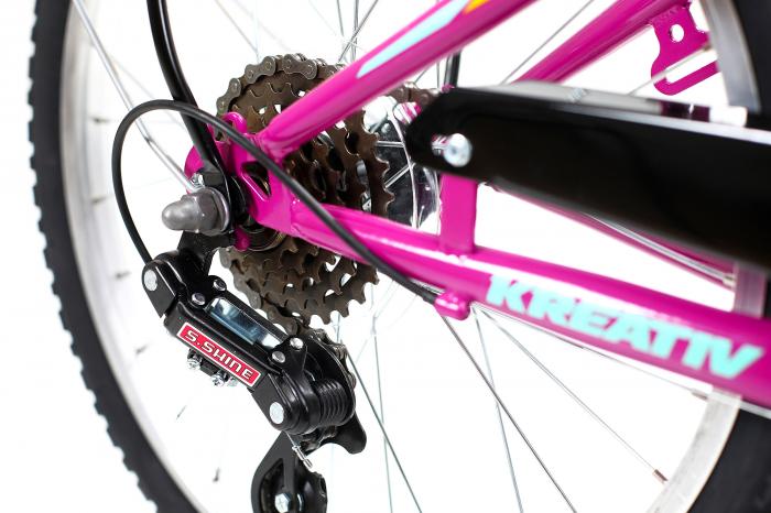 Bicicleta Copii Kreativ 2014 Turcoaz 20 Inch 12
