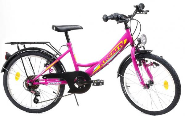 Bicicleta Copii Kreativ 2014 Turcoaz 20 Inch 0