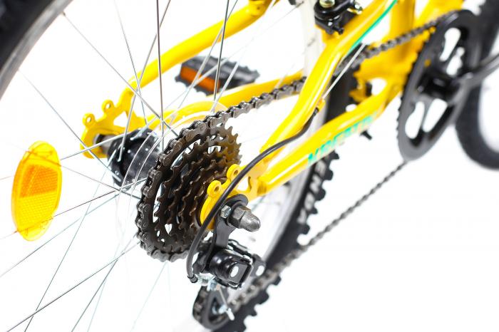 Bicicleta Copii Kreativ 2041 Galben 20 Inch 3