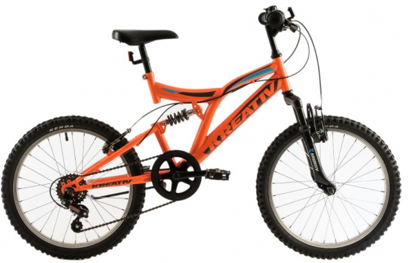 Bicicleta Copii Kreativ 2041 Portocaliu/Aprins 20 Inch 0