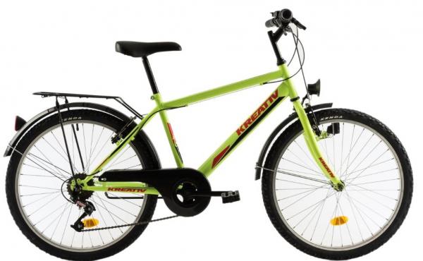 Bicicleta Copii Kreativ 2413 Negru 24 Inch 1