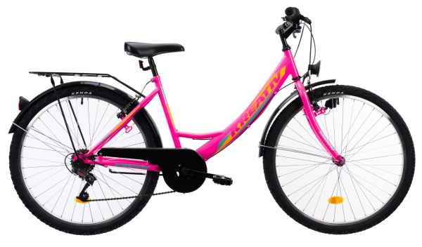 Bicicleta Copii Kreativ 2414 Turcoaz Light 24 Inch 11