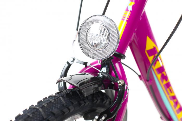 Bicicleta Copii Kreativ 2414 Turcoaz Light 24 Inch 5
