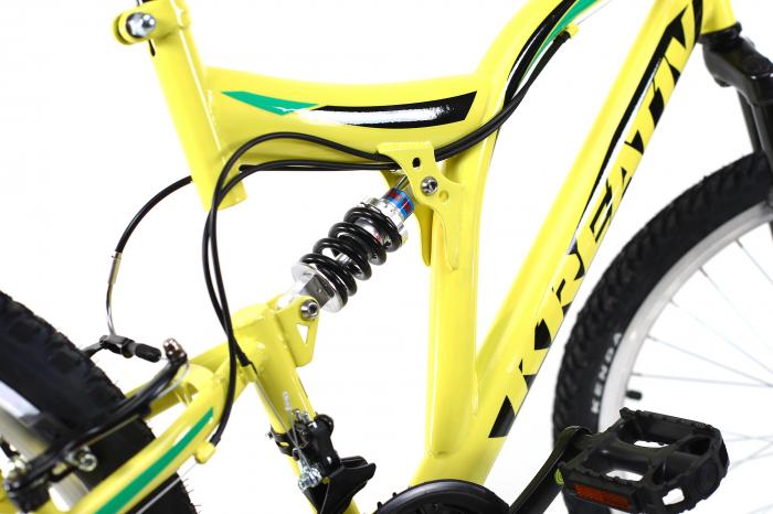 Bicicleta Copii Kreativ 2441 Portocaliu 24 Inch 9