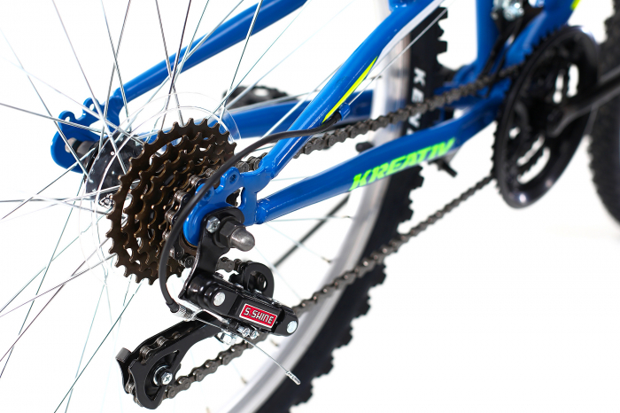 Bicicleta Copii Kreativ 2441 Portocaliu 24 Inch 3