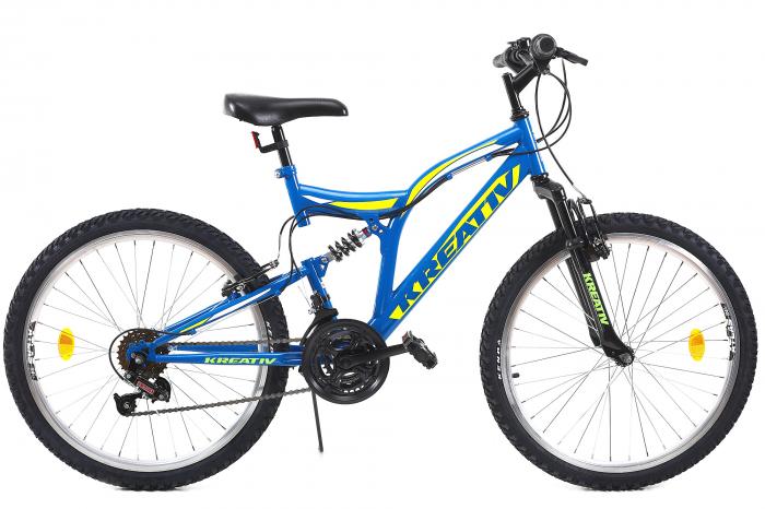 Bicicleta Copii Kreativ 2441 Portocaliu 24 Inch 2