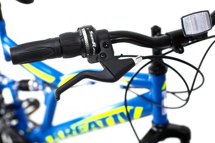Bicicleta Copii Kreativ 2441 Portocaliu 24 Inch 5