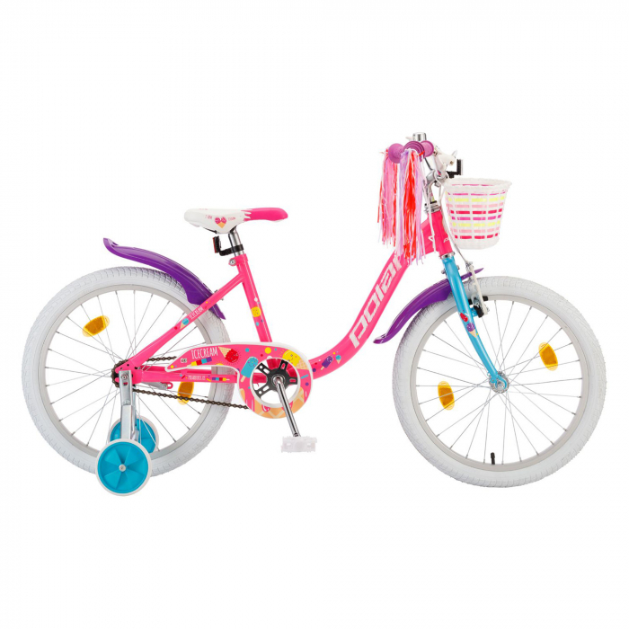 Bicicleta Copii Polar Icecream - 20 Inch  Roz-Mov [0]