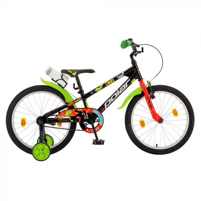 Bicicleta Copii Polar Junior Dino - 20 Inch  Negru [0]