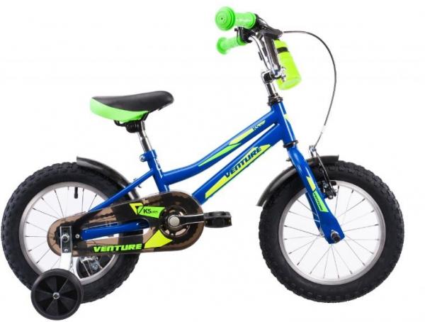 Bicicleta Copii Venture 1417 Galben 14 Inch 1