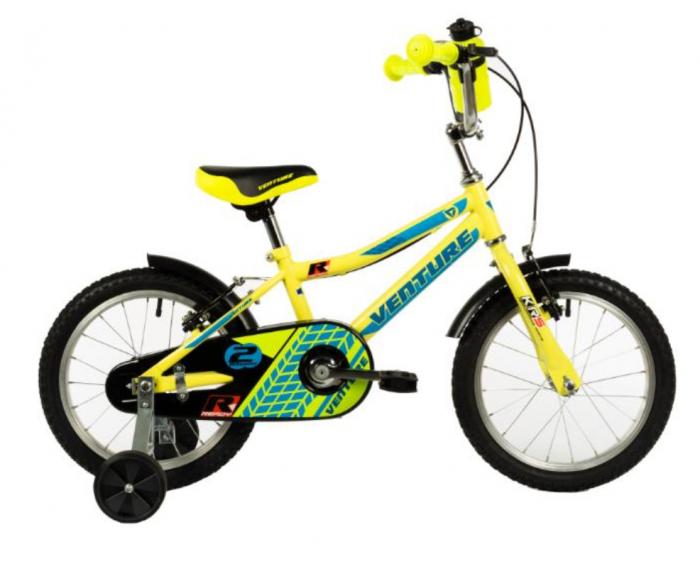 Bicicleta Copii Venture 1417 Galben 14 Inch 0
