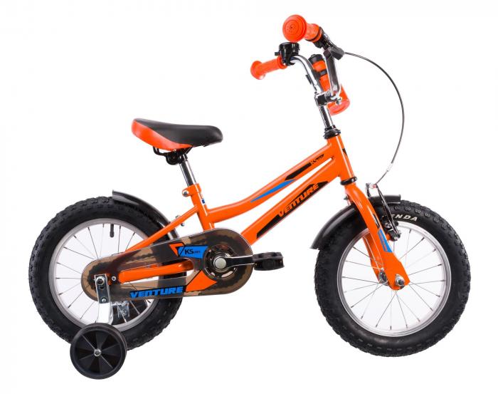 Bicicleta Copii Venture 1417 Portocaliu 14 Inch 0