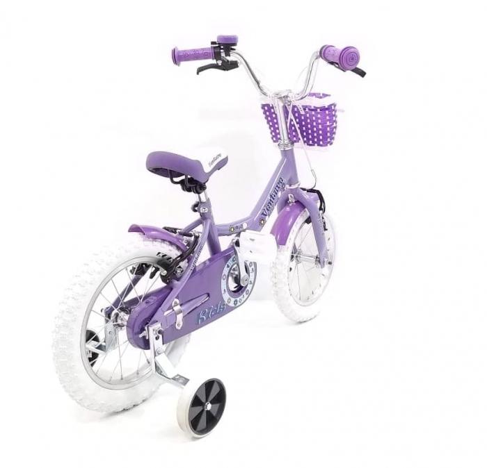 Bicicleta Copii Venture 1418 Alb 14 Inch 3