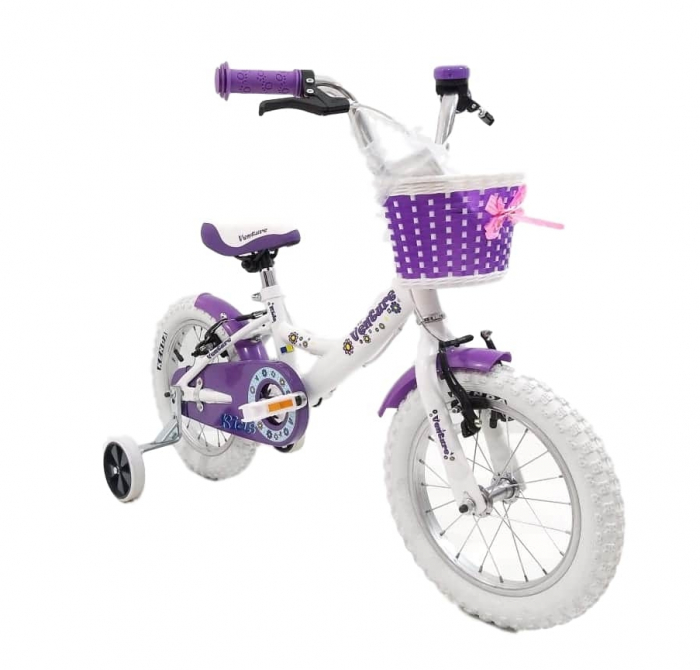 Bicicleta Copii Venture 1418 Alb 14 Inch [6]