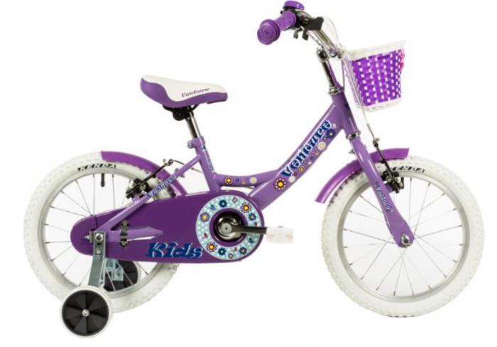 Bicicleta Copii Venture 1418 Alb 14 Inch 1