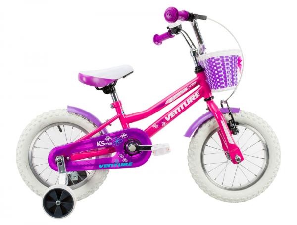 Bicicleta Copii Venture 1418 Alb 14 Inch 2