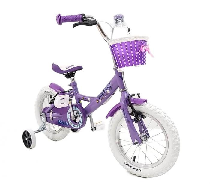 Bicicleta Copii Venture 1418 Alb 14 Inch [4]