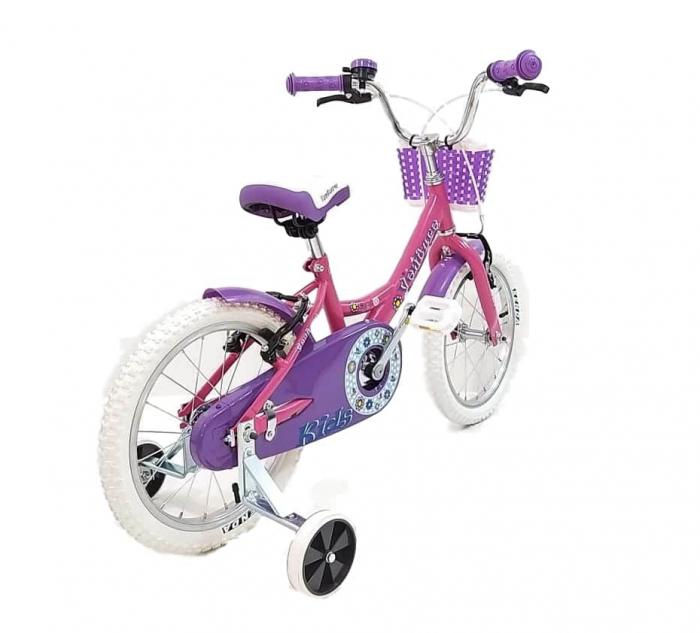 Bicicleta Copii Venture 1618 Alb/Mov 16 Inch [3]