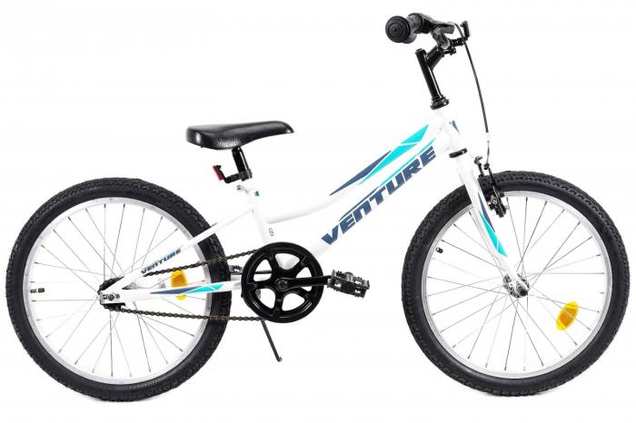 Bicicleta Copii Venture 2011 Alb 20 Inch 0
