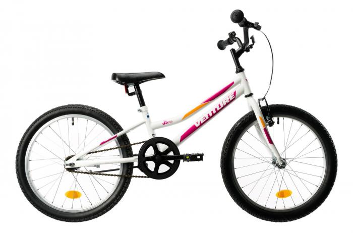 Bicicleta Copii Venture 2011 Alb/Albastru 20 Inch 0