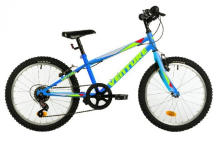 Bicicleta Copii Venture 2017 Galben 20 Inch 1