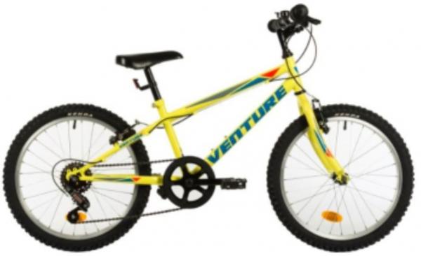 Bicicleta Copii Venture 2017 Galben 20 Inch 0
