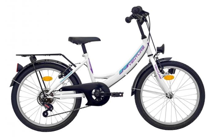 Bicicleta Copii Venture 2018 Alb 20 Inch 0