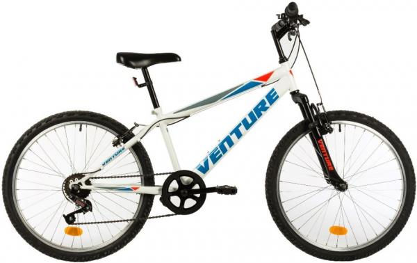 Bicicleta Copii Venture 2419 Alb 24 Inch 0